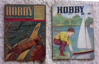 Revista Hobby N°105 Año1945 Y N°270 Año 1959