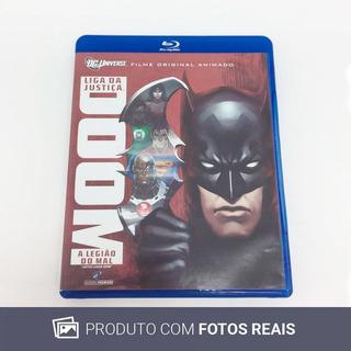 Filme Blu-ray Liga Da Justiça Doom: A Legião Do Mal Usado
