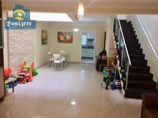 Sobrado Com 3 Dormitórios À Venda, 162 M² Por R$ 750.000,00 - Vila Marina - Santo André/sp - So1788