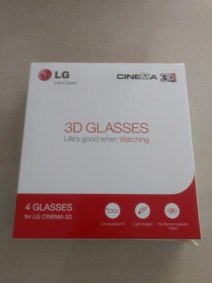 Kit 04 Oculos 3d Original LG - Mod Ag-f310