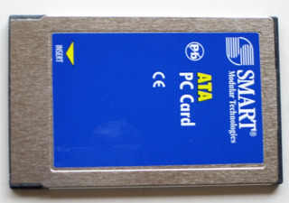Tarjeta Memoria Pcmcia Pc Card Smart Tech Ata Flash 64mb
