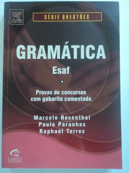 Livro-gramática:esaf:marcelo Rosenthal...concurso