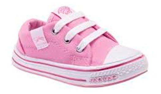 Zapatilla Jaguar Kids 128 Rosa T 19 20 22 23 24 25 26