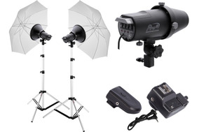 Kit Iluminação Para Estúdio Fotográfico - Nacional 110/220v