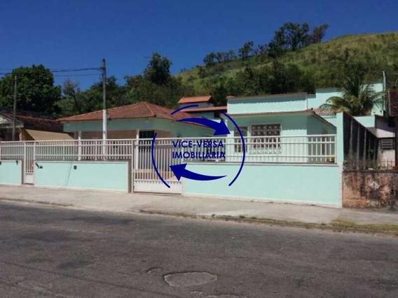 Casa À Venda No Jardim Sulacap - Para Duas Famílias, 1 E 3 Quartos, Piscina, Lavanderia, Espaço Gourmet, 6 Vagas! - 1215