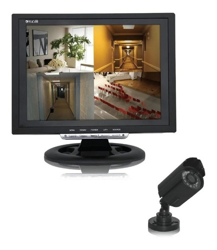 Kit Video Vigilancia 12q Cctv + 1 Camara Seguridad - Tofema.