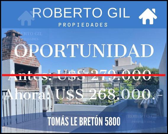 Ph De 4 Ambientes - Tomás Le Bretón 5800 - Villa Urquiza -