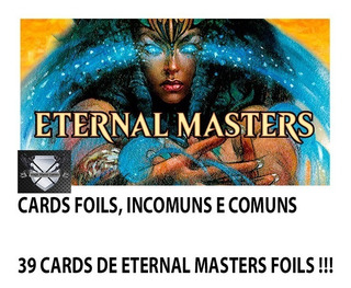 Lote Cards Foils De Eternal Masters - Cards Novos !!!