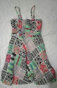 Roupa Feminina - Vestido Colorido - Brechó Moderno