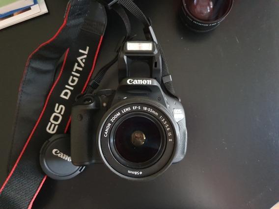 Canon Eos T3i + Kit 18.55 + Bolso + Gran Angular