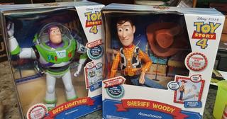 Figuras Buzz Lightyear Y Woody Animatronicos