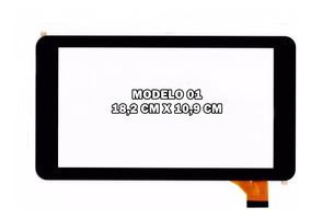 Tela Touch Tablet How Max Quad A0011-c A0011c 7 Polegadas