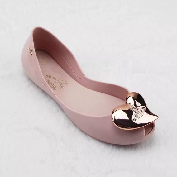 Zapatos Flats Mujer Vivienne Westwood Corazón 22.5 A 25 Cm