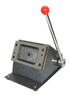 Cortador Para Cartão De Pvc Crachá 86x54mm - De Mesa-manual