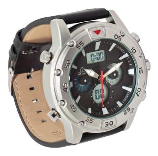 P1813as-l0101 - Reloj Pegaso Metalico Pulso Cuero Ana-d.