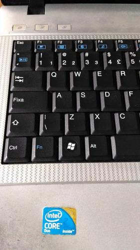 Notebook Sim Positivo Core 2 Duo