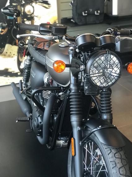 Triumph Bonneville T100 Black Con Accesorios
