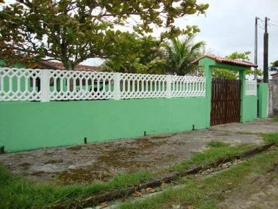 Casa Lado Praia Em Itanhaém, Escritura E 2 Suítes!