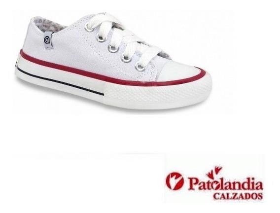 Zapatillas Rave Puntera Clasicas Originales Lona N° 27/33