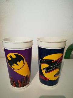 2 Vasos Batman Pepsi 1989