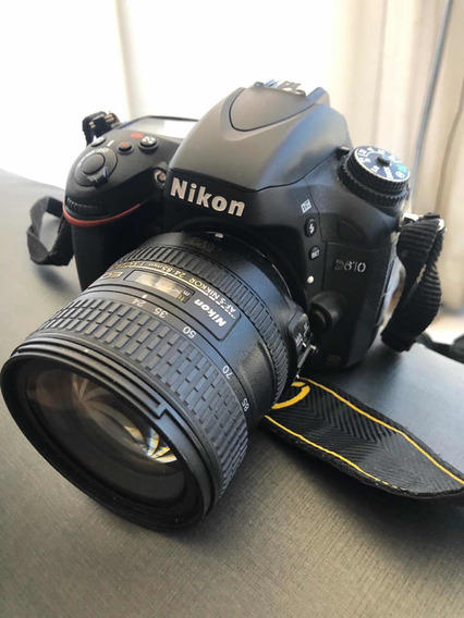 Câmera Nikon D610 + Lente 24-85mm