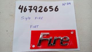 Insignia Fire - Fiat Palio / Uno