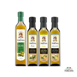 1 Aceite Oliva 500ml Y 3 Aceites De Oliva Saborizados A
