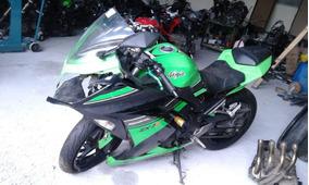 Sucata De Moto Para Peças Kawasaki Zx-3 Ninja300 Modelo 2013
