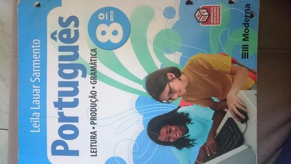 Livro Português 8º Ano - Leila Lauar Sarmento - 3ª Edição
