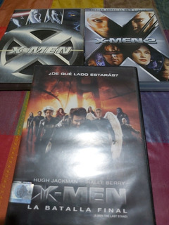 Dvd X-men Trilogía Original