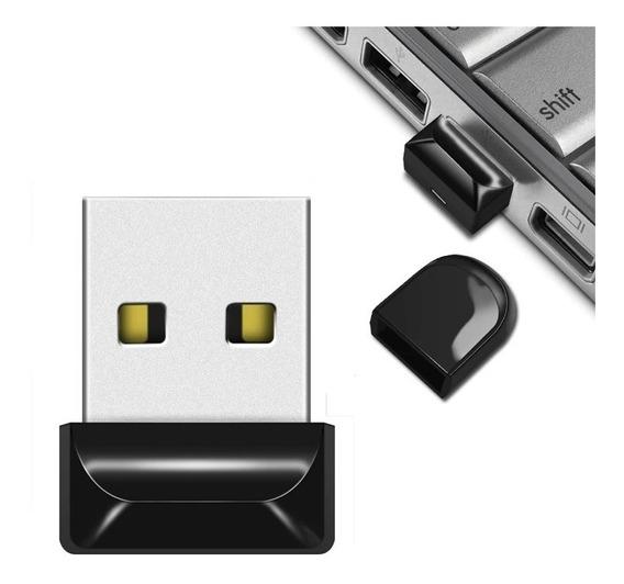Micro Mini Pen Drive 64gb Usb 2.0 A Prova Dágua Frete Gráti