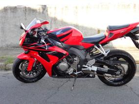 Moto Honda Cbr 1000rr Fire Blade Vermelha Ano 2005/2005