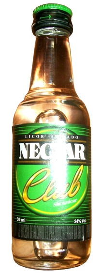 Minibotella De Licor Nectar Club Importada 50ml