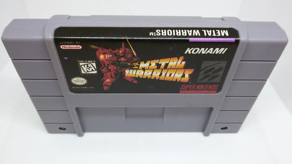 Metal Warriors Super Nintendo Paralelo Usado Snes Madgames
