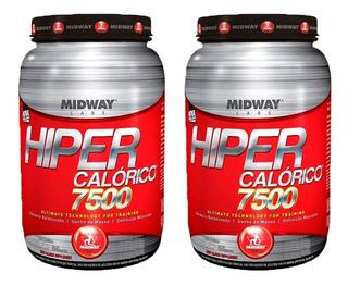 Hipercalórico 7500 - 2x 1,4 Kg - Midway