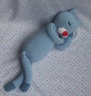 Muñecos Tejidos. Gato Tejido A Crochet.amigurumis. Hermoso!!