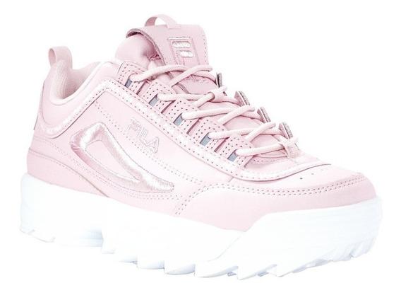 Fila Disruptor Ii Premium Repeat Pink