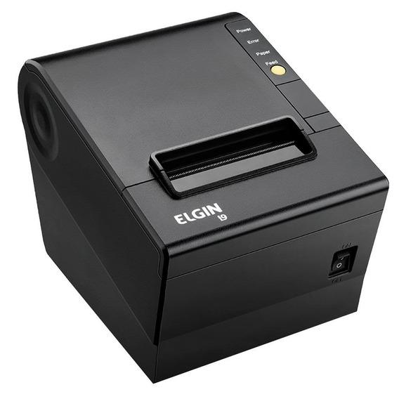 Impressora Térmica Elgin Não Fiscal I9 Preta Bivolt