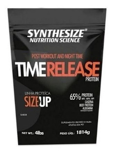 6 Unidades Whey Time Release Protein 1800g - Synthesize