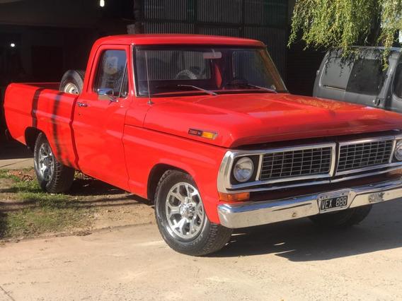 Ford 100 Punta Diamante - Año 1972 - Solo Para Entendidos -
