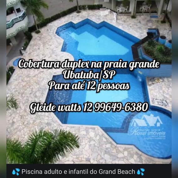 Cobertura Duplex Na Praia Grande Ubatuba