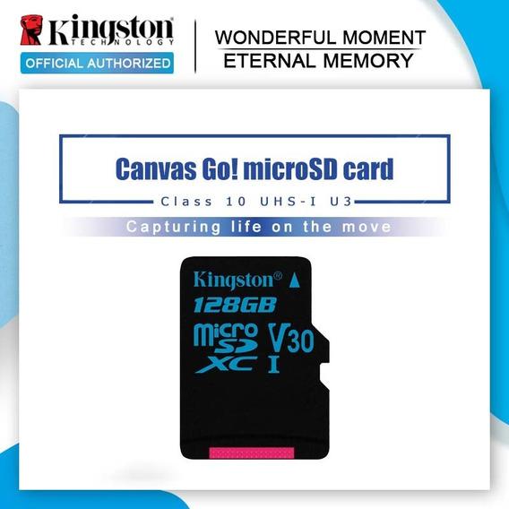 Kingston Micro Sd Cartão 128gb Classe 10 Cartão De Memória U
