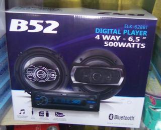 Par De Parlantes B52 6,5 , Mas Radio B52
