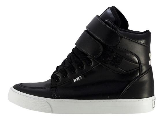 Tênis Sneakers Rave Staff Preto Branco Mad Bull Dr7 Promoção