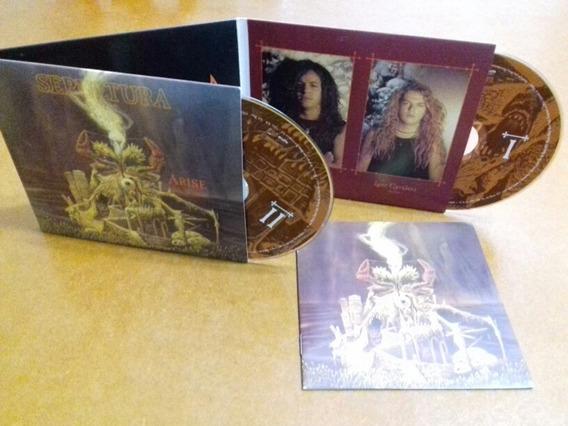 Cd Sepultura - Arise Expanted Edition 2 Cds Novo Lacrado.