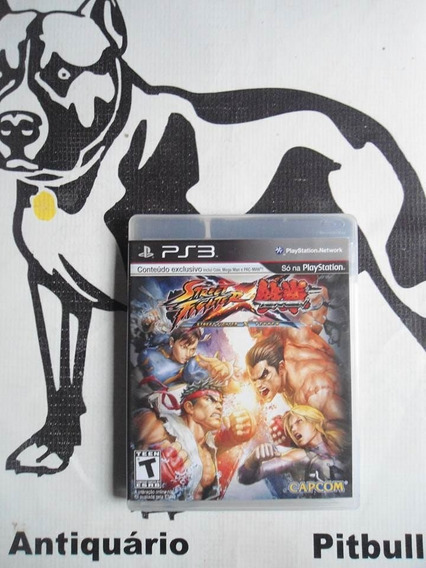 Street Fighter Vs Tekken Original Playstation 3