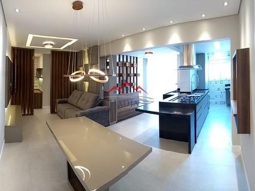 Lindíssimo Apartamento No Condomínio Naturale Em Jundiaí Sp. - Ap00086 - 67827990