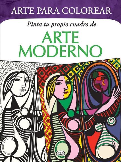 Arte Para Colorear - Pinta Tu Propio Cuadro De Arte Moderno
