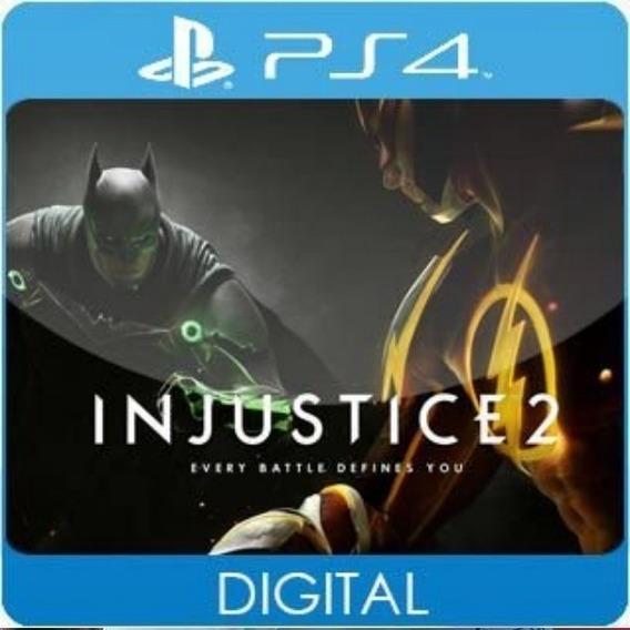 Injustice 2 Ps4 / 1 / Envio Hoje
