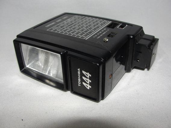 Antigo Flash Toshiba 444 Funcionando Camera Fotografica